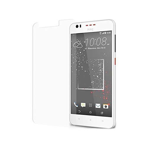 SNOOGG HTC Desire 825 Smart Phone, Golden Graphite Screen Protector, Premium Oil Resistant Coated Tempered Glass Screen Protector Film Guard Anti-explosion