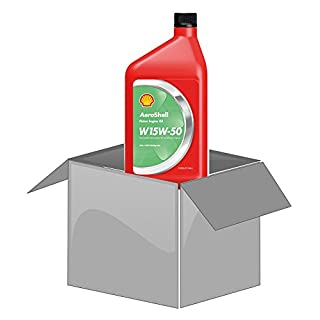 AeroShell Oil W 15W-50 (multigrade) - Karton (12 x 1 AQ Flaschen, US-Quart)