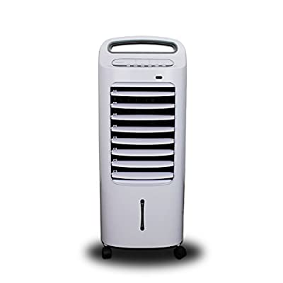 electriQ Slimline Mobile Portable Evaporative Air Cooler Built-in Air Purifier and Humidifier