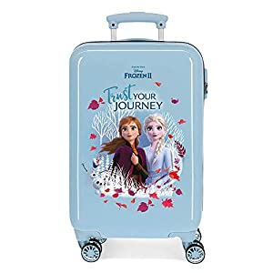 Maleta de cabina Trust your journey rígida 55cm Frozen II