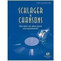 """'Schlager et chansons de de 20à 40ans–39Célèbre chansons de """"bel ami"""" à """"Veronika la Lenz est là dans mittelschweren Compositions pour accordéon (Notes)"""