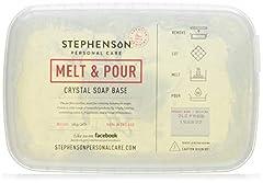 Idea Regalo - Mystic Moments - Base per sapone da sciogliere e versare senza SLS, 1 kg, colore: Trasparente