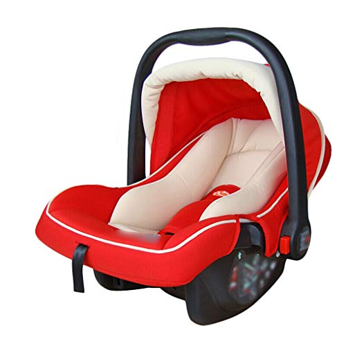 Jian E/& Baby Schaukelstuhl elektrische Wiege Smart Shaker Baby Komfort Stuhl Bett Korb Korb Schlafkorb /- (Farbe : Red)