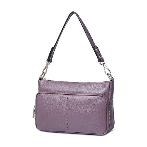 Weibliche kleine quadratische tasche handtasche Schulter messenger bag kleine paket Von rinder einfache freizeit-paket Ein