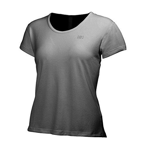 Helly Hansen W Aspire Lifa Flow SS T-shirt femme gris