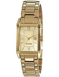 Esprit Damen-Armbanduhr Helena Analog Quarz Edelstahl beschichtet ES000EO2012