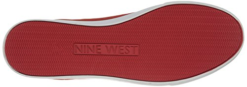 Nine West Explosion Fabric Fashion Sneaker Rouge - rouge