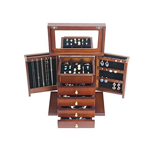 Style européen rétro boîte à Bijoux Multi-Fonctionnelle boîte de Mariage