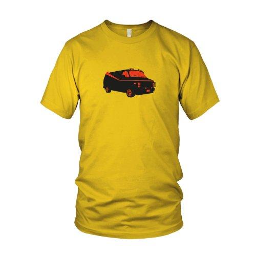 Team Van - Herren T-Shirt, Größe: XXL, Farbe: gelb