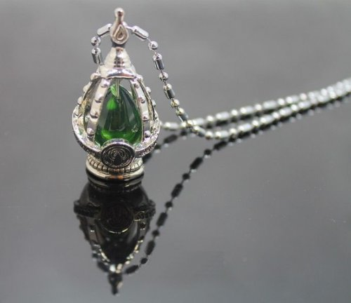 Madoka Puella Magi Magica Anima Gem (verde) Collana +allneo