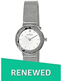 (Renewed) Skagen Leonora Analog Silver Dial Womens Watch - 456SSS#CR
