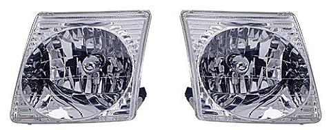 FORD EXPLORER SPORT TRAC/SPORT PAIR HEADLIGHT 01-04/ NEW by Eagle Eye Lights