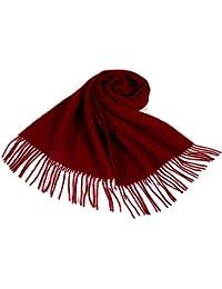 i+k Écharpe en cachemire et laine de mérinos - 100% laine Écharpe en Laine  Cachemire Hiver Pashmina Châle Pour… 31c80eaf534
