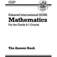 New Edexcel International GCSE Maths Answers for Workbook - For the Grade 9-1 Course