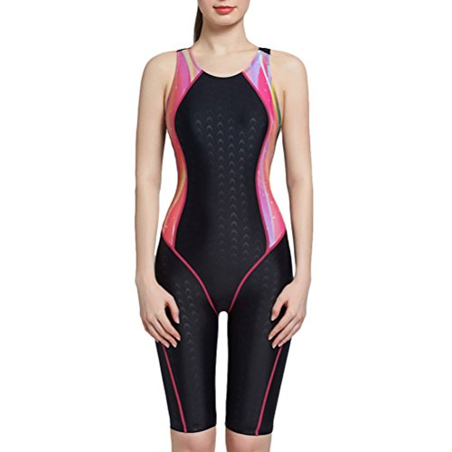 Zhhlinyuan Fashion Summer Athletic Swimwear Professional Womens Quick-dry Swimsuit
