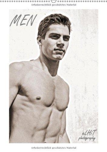 MEN 2013 (Wandkalender 2013 DIN A2 hoch): Kalender mit Fotografien von eLHiT photography (Monatskalender, 14 Seiten)