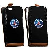 DeinDesign Apple iPhone 5 Étui Étui à Rabat Étui magnétique Paris Saint-Germain...
