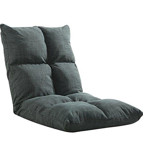 Lattice Gepolsterte Fußboden stuhl Mit verstellbare rückenlehne, Faule couch wieder unterstützen stuhl, Tatami faltbare einzelne kleine sofastuhl, Japanischen futon stuhl-E 52x110cm(20x43inch)