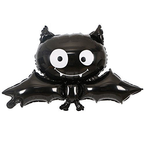 Zantec Schwarze Vampirs Schläger Halloween Folien Ballon Wiederverwendbare Partei Versorgungsmaterial Ballone HauptPartei Stab Dekoration Kind Geschenke