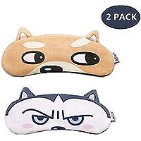 Jiahao Schlafmaske für Katzen, Hund, niedliche Schlafmaske mit Gel-Pad, warmes und kaltes Eiskissen für Schlaflosigkeit... preisvergleich bei billige-tabletten.eu