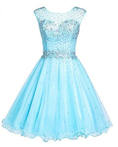 KA Beauty - Abito - ragazza Blu