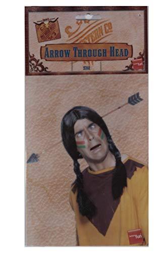 Imagen 3 de Smiffys Flecha atravesando la cabeza, con punta de caucho