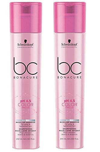 Schwarzkopf BC Bonacure Color Freeze Silver Shampoo SET 2 x 250ml -