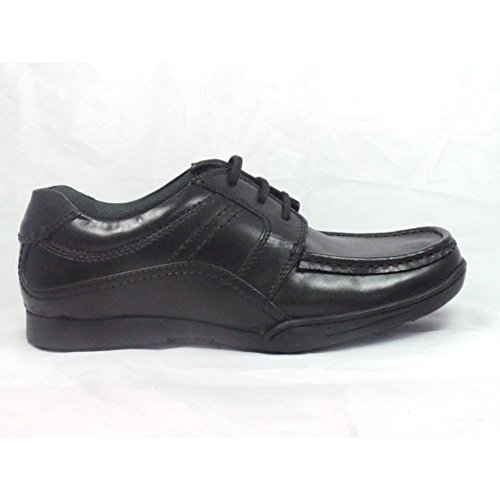 Lotus Tillman Black Leather Lace-up Mens Shoe 6