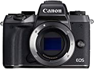 Canon EOS M5 24.2 MP, Mirrorless DSLR, Body Only, Black