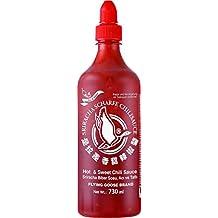 Flying Goose Salsa Sriracha, Picante y Dulce - 12 Botellas