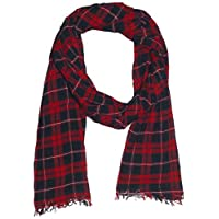 OVS Men's Sally Scarves, Color: Chinese Red, Size: One Size