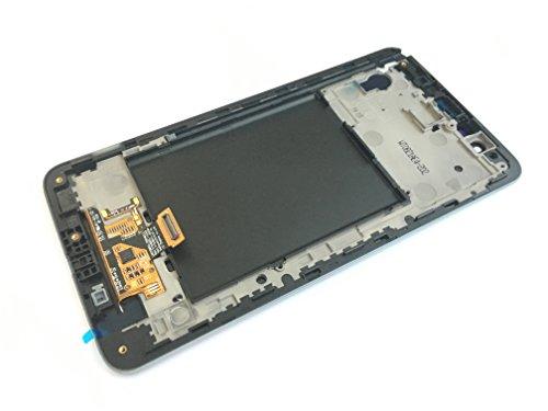 Schwarz LCD display touchscreen+frame fur Lg Stylus 2 K520 LS775 K540 K520K (Lcd Stylus)