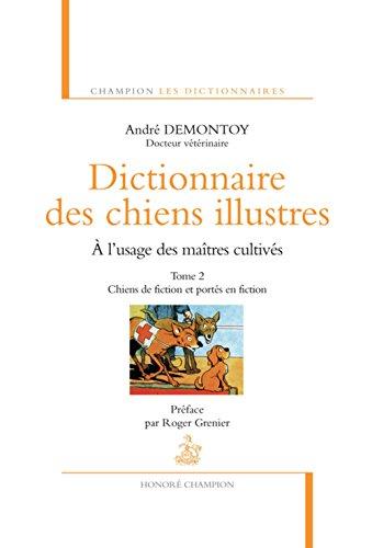 Dictionnaire des chiens illustres - tome 2 (2)