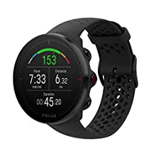 Polar Unisex Adult Vantage M Multisport Watch - Black, S/M