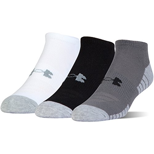 Under Armour Youth's Heatgear Tech Noshow Socks (Pack of 3)