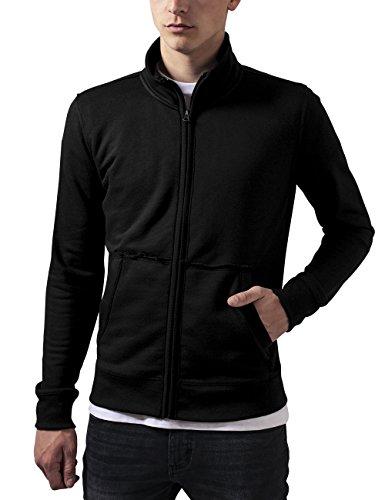 Urban Classics Herren Loose Terry Zip Jacket Jacke, Schwarz (Black 7), X-Large (Herstellergröße: XL) Terry Zip Jacket