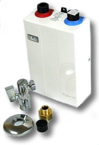 PERFECT Klein Durchlauferhitzer 3,5kw elektronisch Untertisch -
