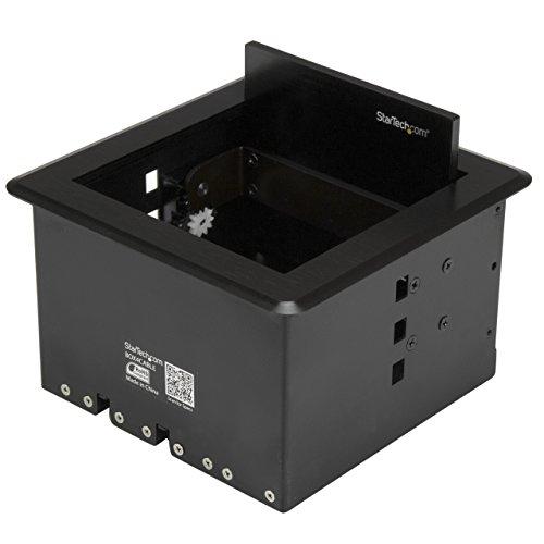 StarTech.com Kabelmanagement Box für Konferenztische - Konferenzraum AV - Konferenztisch Konnektivitätsbox
