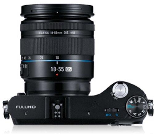 Samsung NX200 Systemkamera (20,3 Megapixel, 7,6 cm (3 Zoll) Display, i-Funktion) inkl. 18-55mm NX Objektiv - 4