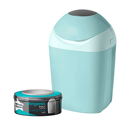 Tommee Tippee Sangenic Tec Nappy Disposal Tub (Green) Test
