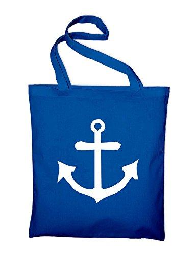 Capitano Di Ancoraggio Seafaring Iuta, Sacchi, Sacchetti Di Stoffa, Borse In Cotone, Blu Royal Nero