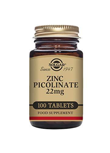 Solgar Picozinco Integratore Alimentare Antiossidante a Base di Zinco - 100 Tavolette