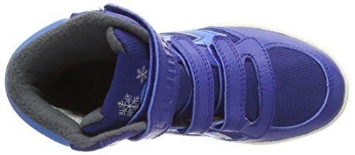 hummel STADIL SUPER POLY Jungen Hohe Sneakers Blau (Limoges Blue 8543)