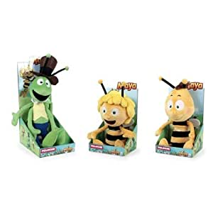 1 seule peluche maya l 39 abeille soit maya soit willy soit flip par quiron famosa et studio 100. Black Bedroom Furniture Sets. Home Design Ideas