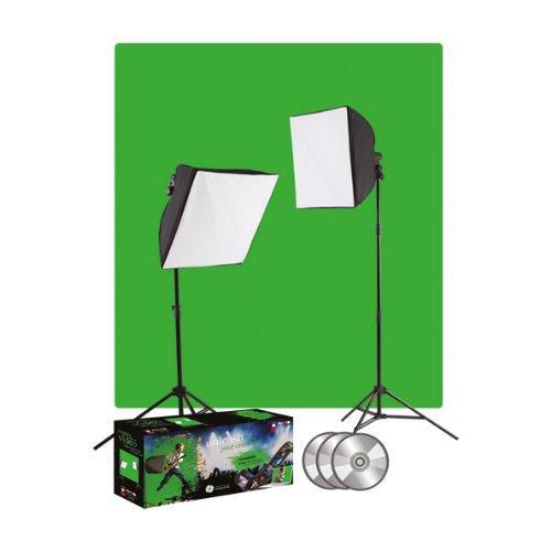 Westcott Photo Basics uLite Greenscreen-Beleuchtungsset für Foto und Video Westcott Photo Basics