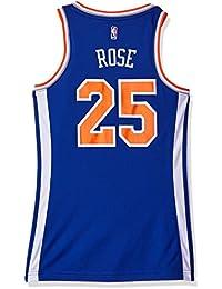 NBA New York Knicks Derrick Rose   25 Replica Maglia da Donna 7e40fcc5061d