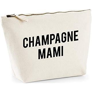 Hippowarehouse Champagne mami printed make up cosmetic wash bag 18x19x9cm
