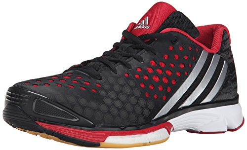 Adidas Response Volley Performance Boost W chaussures, noir / argent / bleu gras, 5 M Us Black/Silver/Power Red