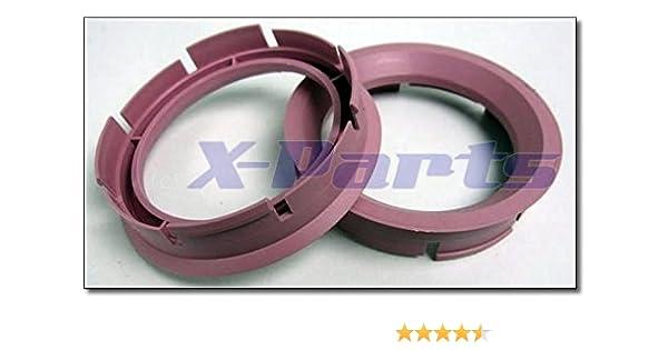 greitapigu.lt 4X Set Felgen Zentrierringe 60,0 mm auf 56,6 mm Alufelgen