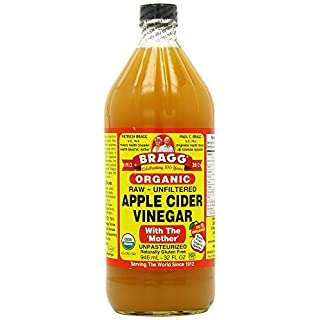 Bragg Organic Raw Apple Cider Vinegar, 32 Ounce (2 Units)